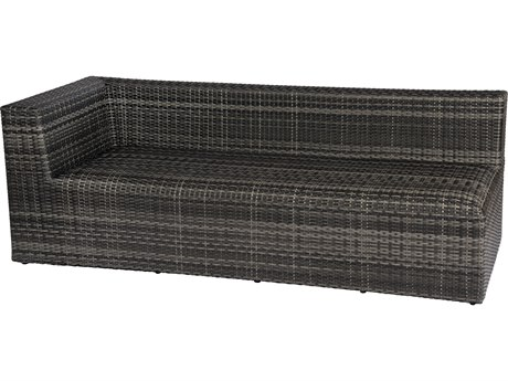 Woodard Canaveral Wicker Eden LAF Loveseat