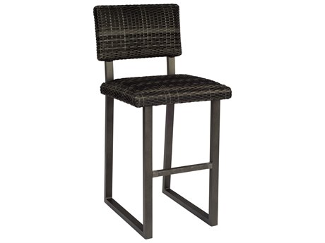 Woodard Canaveral Wicker Harper Bar Stool