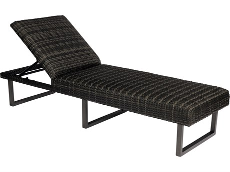 Woodard Canaveral Wicker Harper Chaise Lounge