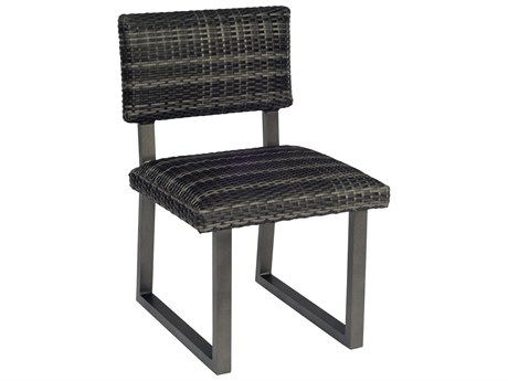 Woodard Canaveral Wicker Side Harper Dining Side Chair