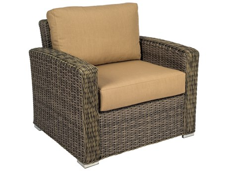 Woodard Bay Shore Wicker Lounge Chair
