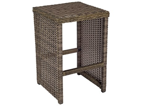 Woodard Bay Shore Wicker Counter Stool