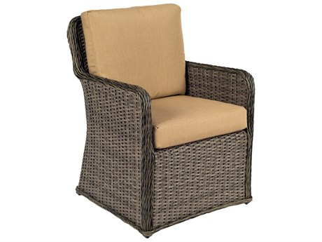 Woodard Bay Shore Wicker Dining Chair