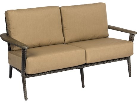 Woodard Draper Wicker Loveseat
