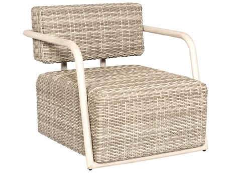 Woodard Scout Wicker Siberian Lounge Chair PatioLiving