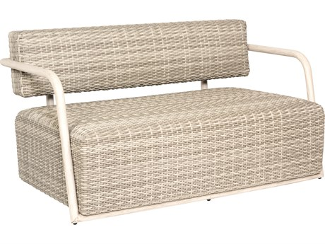 Woodard Scout Wicker Siberian Loveseat PatioLiving
