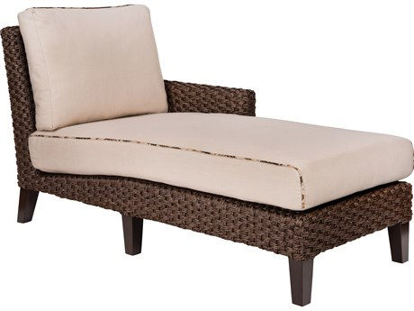 Whitecraft Mona Wicker RAF Sectional Chaise Unit