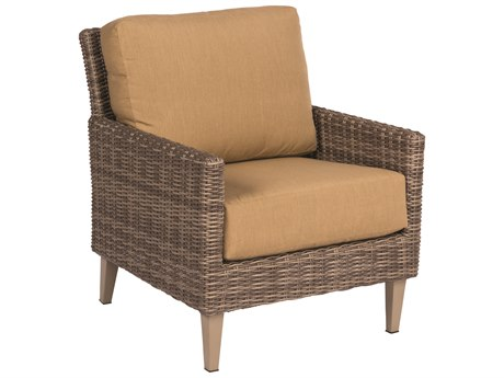 Woodard Parkway Driftwood Wicker Lounge Chair