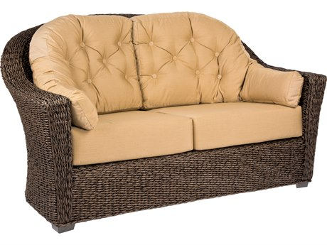 Woodard Whitecraft Isabella Wicker Loveseat