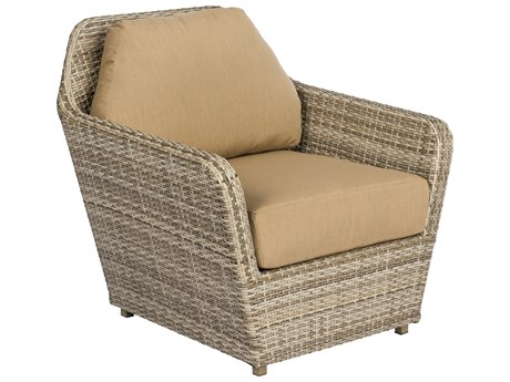 Woodard Pueblo Sand Storm Wicker Lounge Chair