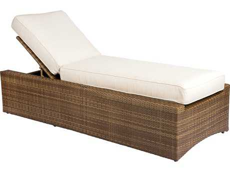 Woodard Whitecraft All Weather Serene Chaise Lounge