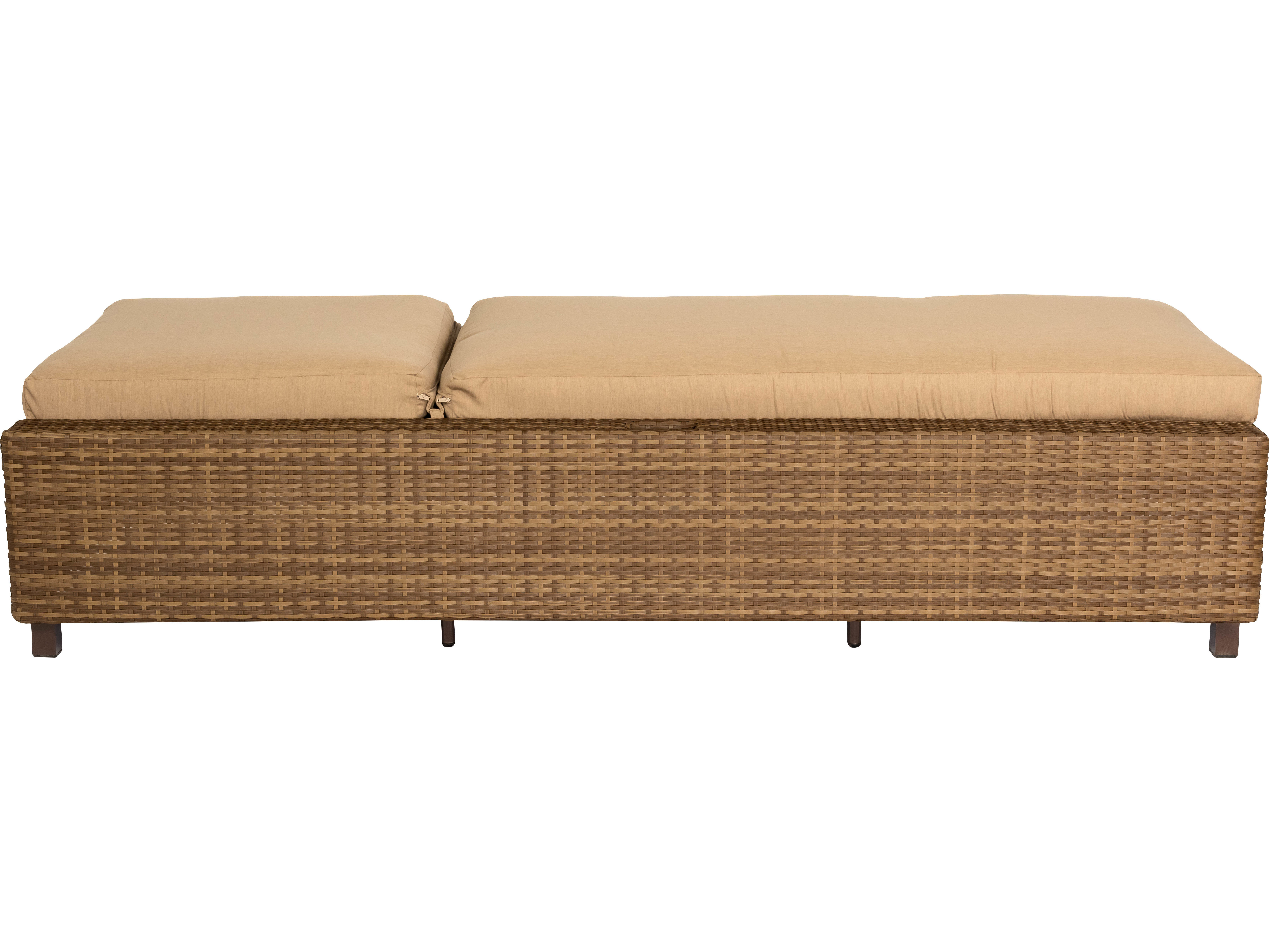 Woodard Whitecraft All Weather Serene Chaise Lounge S593041