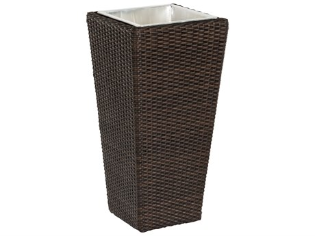 Woodard Whitecraft All Weather Small Planter