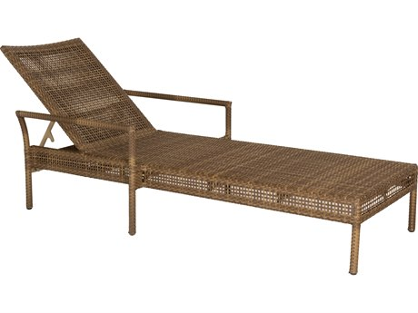 Woodard Whitecraft All Weather Wicker Miami Chaise Lounge