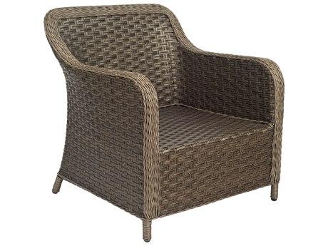 Woodard Savannah Wicker Cushion Lounge Chair