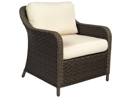 Woodard Savannah Wicker Cushion Lounge Chair
