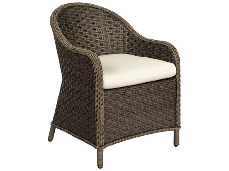 Woodard Savannah Wicker Cushion Dining Chair