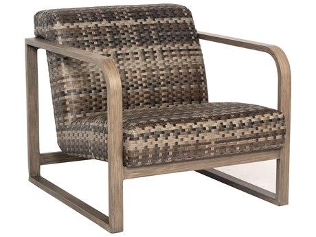 Woodard Reunion Wicker Lounge Chair