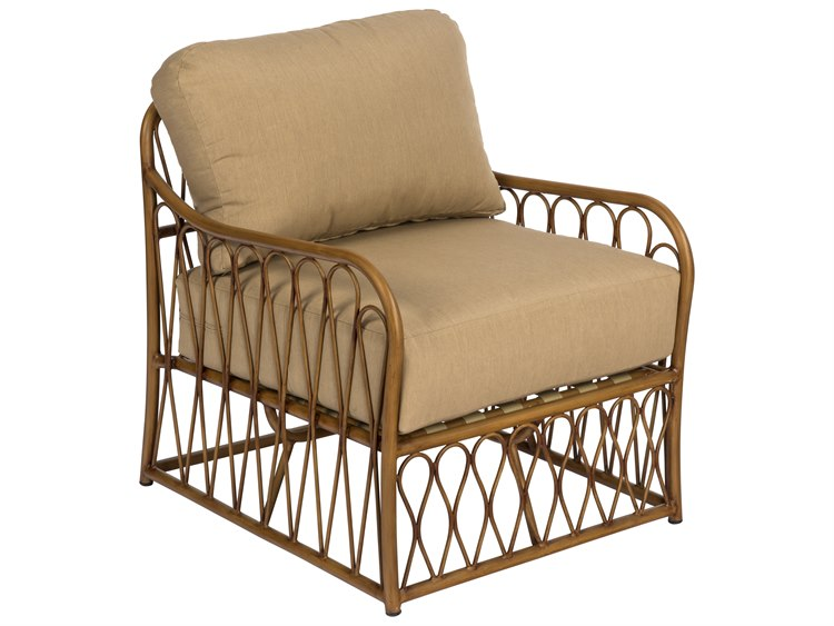 Woodard Cane Aluminum Lounge Chair