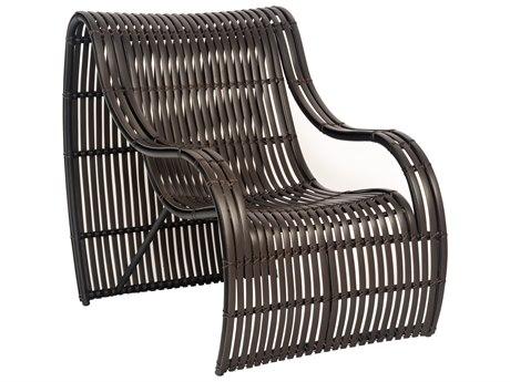 Woodard Loft Wicker Small Lounge Chair