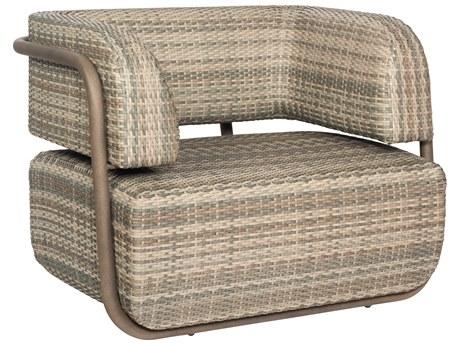 Woodard Santa Fe Wicker Adobe Lounge Chair