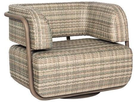 Woodard Santa Fe Wicker Swivel Lounge Chair