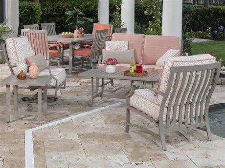 Woodard Seal Cove Aluminum Lounge Set