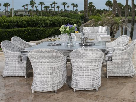 Woodard Sonoma Wicker Dining Set