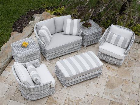 Whitecraft Sonoma Wicker Lounge Set