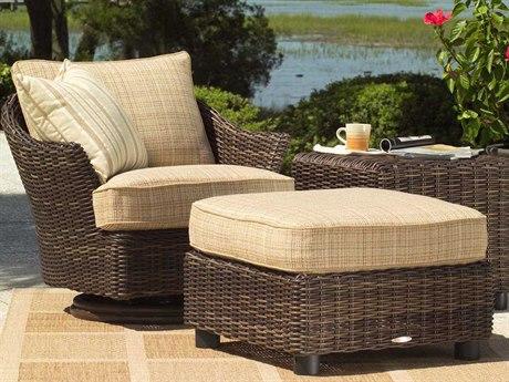 Woodard Sonoma Wicker Lounge Set
