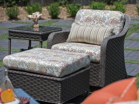 Woodard Savannah Wicker Lounge Set