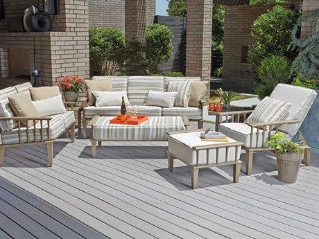 Woodard Van Dyke Aluminum Lounge Set