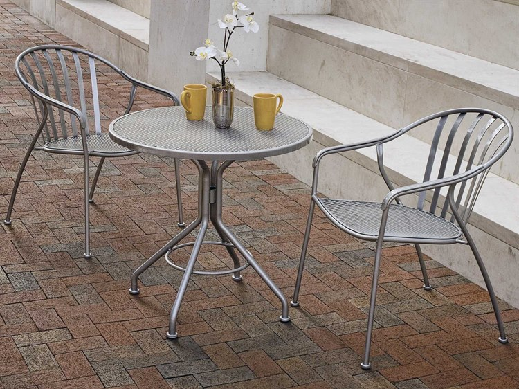 Woodard Valencia Wrought Iron Dining Set PatioLiving