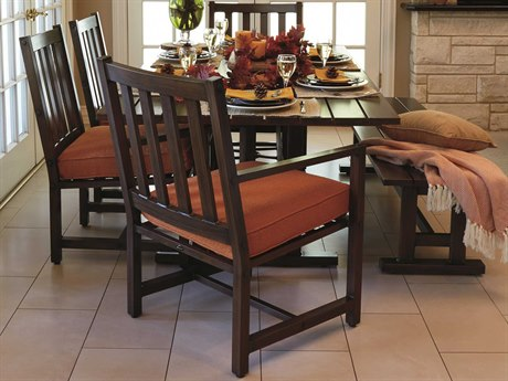 Woodard Woodlands Aluminum Dining Set