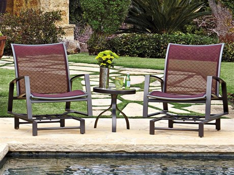 Woodard Wyatt Flex Aluminum Lounge Set