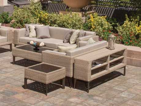 Winston Banyan Bay Wicker Lounge Set