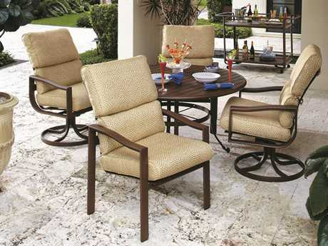 Winston Belvedere Cushion Aluminum Dining Set