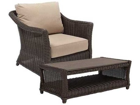 Winston Quick Ship Breeze Woven Cushion 2 Piece Lounge Set
