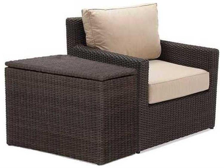 Winston Quick Ship Capri Woven Cushion 2 Piece Lounge Chair Set