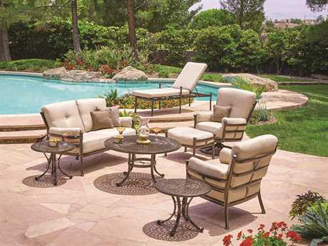 Winston Catania Cushion Aluminum Lounge Set