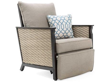 La-Z-Boy Colton Quick Ship Aluminum Espresso Recliner Lounge Chair