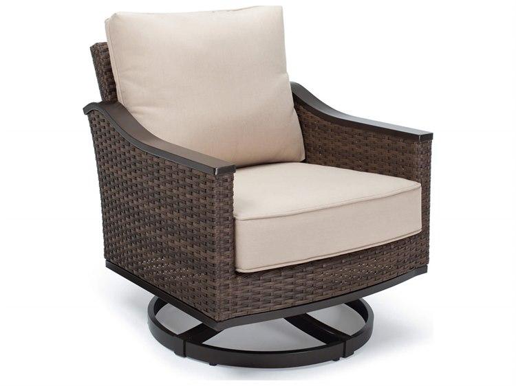 Winston Quick Ship Newport Woven Swivel Tilt Lounge Chair