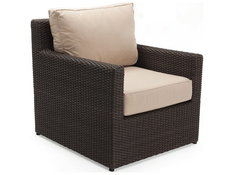 Winston Quick Ship Capri Woven Cushion Lounge Chair