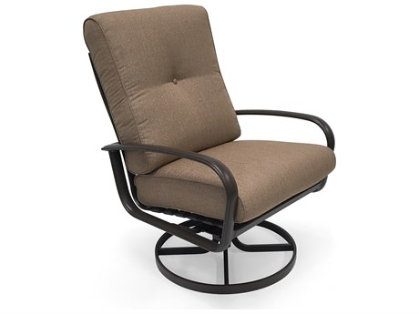 Winston Quick Ship Savoy Cushion Aluminum Ultra Swivel Tilt Lounge Chair