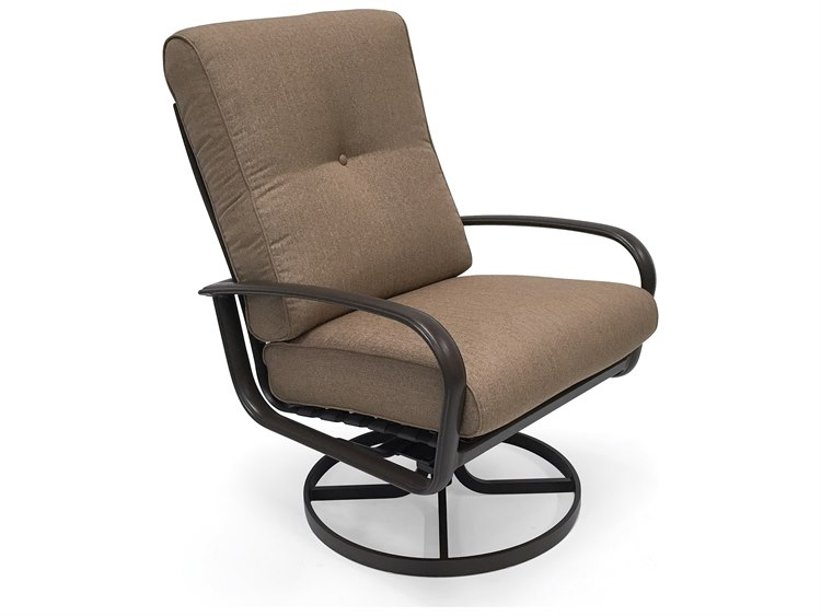 Winston Quick Ship Savoy Cushion Aluminum Ultra Swivel Tilt Lounge Chair