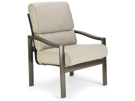 Winston Quick Ship Belvedere Cushion Aluminum Lounge Chair