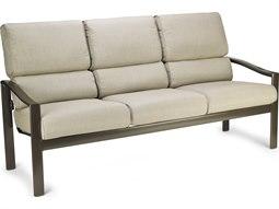 Winston Quick Ship Belvedere Cushion Aluminum Stationary Sofa