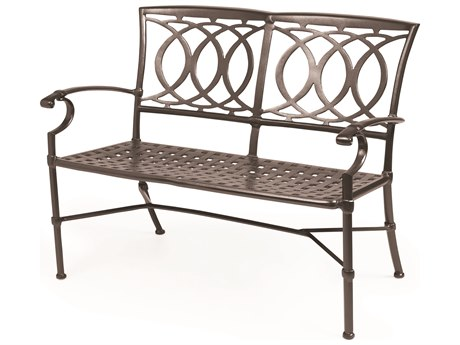 Winston Quick Ship Marseille Cast Aluminum Bench