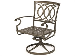 Cast Aluminum Swivel Tilt Dining Chair - Quick Ship