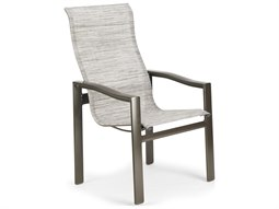 Sling Aluminum Ultimate High Back Dining Chair - Quick Ship